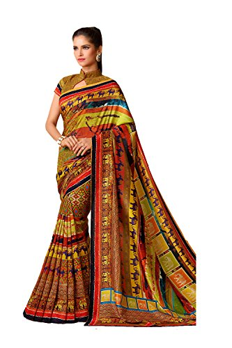 Da Facioun Indian Sarees For Women Wedding Designer Party Wear Traditional Multi Saree. by Da Facioun