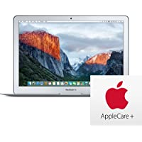 Apple MacBook Air 13.3-Inch 256GB Laptop (2.2GHz i7, 8GB RAM, OS X Sierra) 2017, Z0UU - Factory Upgraded MQD32LL/A with AppleCare+