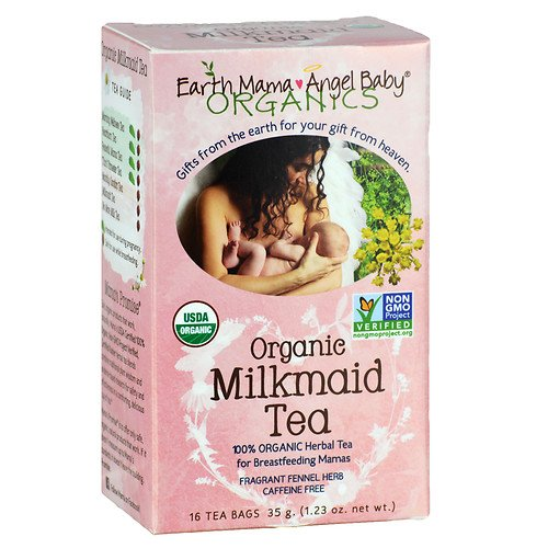 Earth Mama Angel Baby Organic Milkmaid Tea - 16 ct - 2 pk