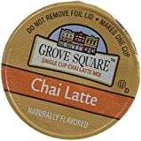 k cup coffee chai latte - Grove Square Chai Latte, 48-count Single Serve Cup for Keurig K-cup Brewers