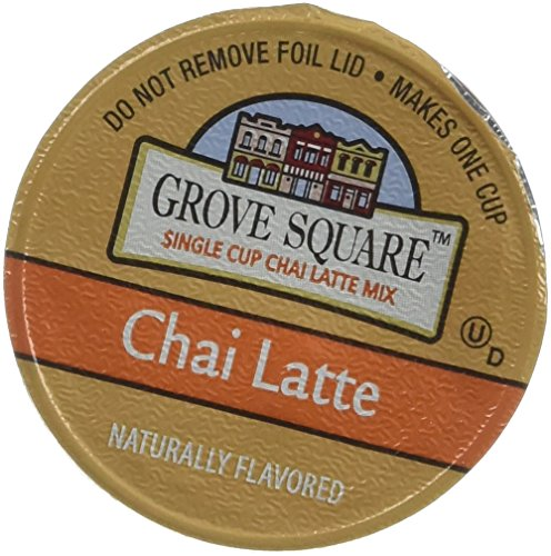 Grove Square Chai Latte, 48-count Single Serve Cup for Keurig K-cup Brewers