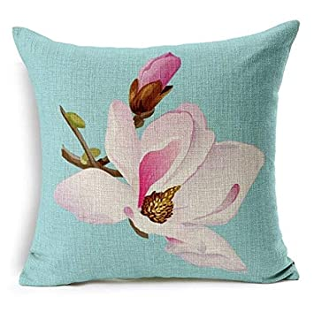 Amazon.com: vvv123 Flower Decorative Pillows Home Car Tree ...