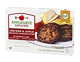 Applegate Naturals Breakfast Sausage Patties Chicken & Apple, 7 Ounce (Pack of 12)