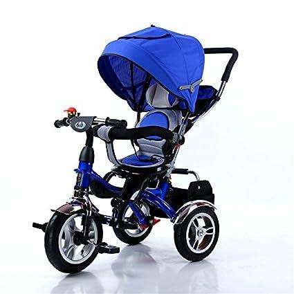 e1554aa928 Triciclo Multifunzionale Per Bambini, Bicicletta, Seggiolino Girevole Per  Bambini Di 1-3 Anni