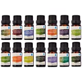 Pursonic AO14 100% Pure Essential Aromatherapy Oils Gift Set, 14 Pack, 10ml
