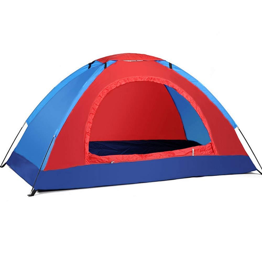 rouge  GFF LA6 Vitesse Tente Ouverte Loisirs en Plein air 2 Personne moustiquaire portable Randonnée Camp monocouche Tente antipluie 200  120  110 cm