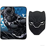 Marvel Avengers Black Panther Nogginz Pillow and Blanket Kids Bedding Set