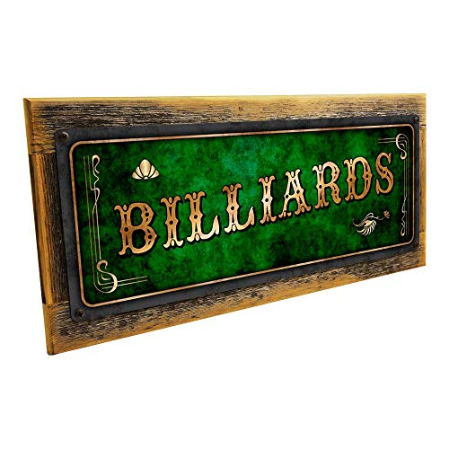 - Homebody Accents Framed Green Billiards 6
