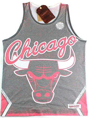 Chicago Bulls NBA Mitchell & Ness Men's Playoff Win for sale  Delivered anywhere in Canada