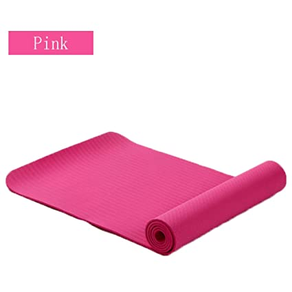 Amazon.com : Non-Slip Texture Yoga Mat TPE Environmentally ...