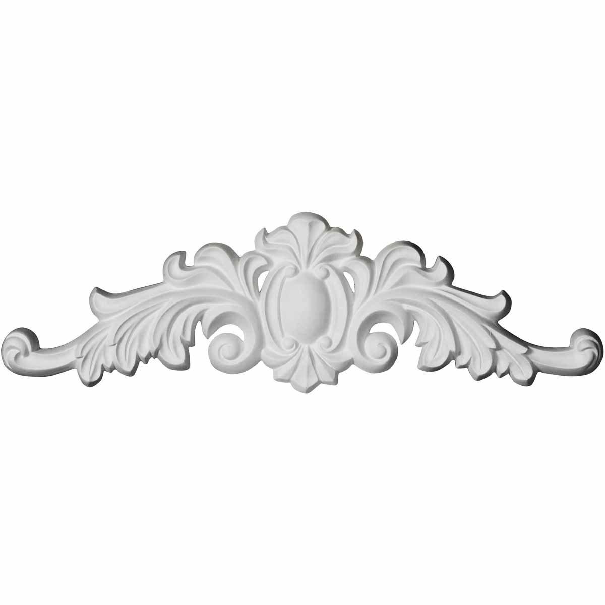 Ekena Millwork ONL16X04X01CO 16 1/8 inch W x 4 3/8 inch H x 3/4 inch P Cole Onlay, White