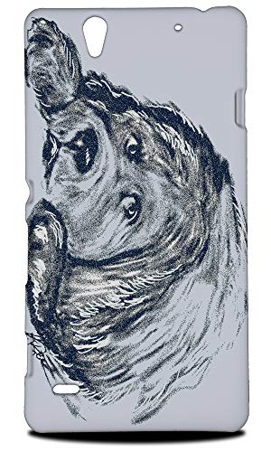 (Newfoundland Dog 2 Hard Phone Case Cover for Sony Xperia C4 / C4 Dual)