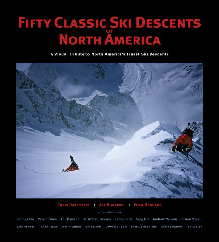 50 Classic Ski Descents of North