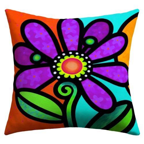Deny Designs Steven Scott Cosmic Daisy In Purple Outdoor ...