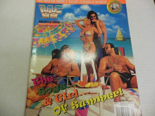 Wwf Magazine Alundra Razor Bret August 1995
