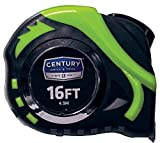 Century Drill and Tool 72818 High Visibility Tape Measure, 16-Foot