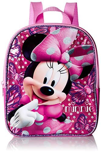 Disney Girls' Minnie Mouse 10 Mini Backpack, Pink
