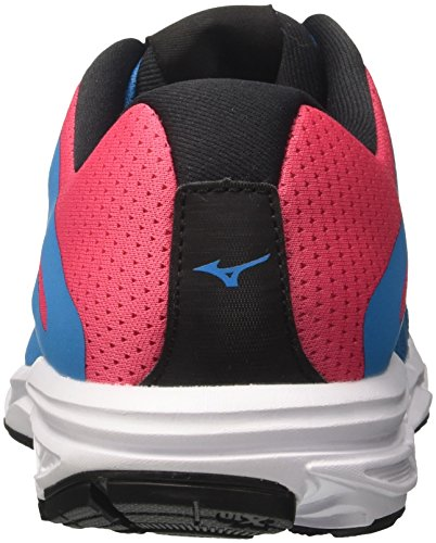 WOS Running Shoes Black Multicolor Bluejewel 09 Ezrun Women's Mizuno Divapink qpxPIwtnE