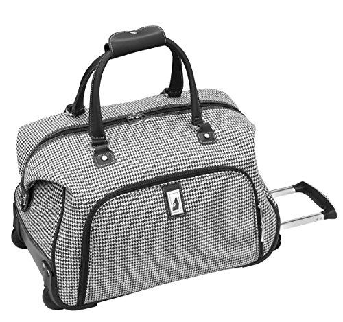 london-fog-cambridge-20-inch-wheeled-club-bag-black-white