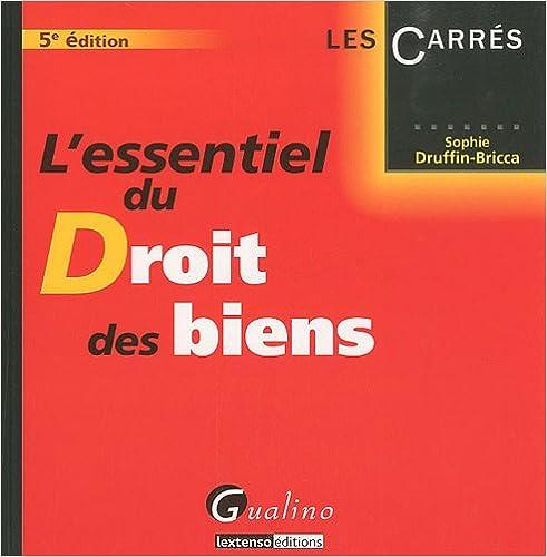 EBook gratuit L'Essentiel du Droit des biens 229701399X by Sophie Druffin-Bricca in French RTF