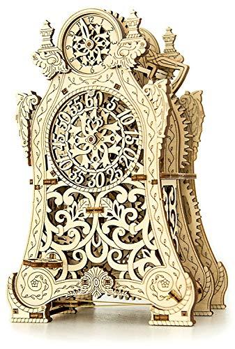 Wooden City Magic Clock 12.9 x 14.1 x 21.8 cm Color, one Size ()