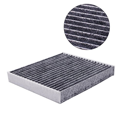 CF10285 87139-07010Cabin Engine Air Filter Work for 2005-2016 Toyota, 2006-2015 Lexus, 2008-2015 Scion, 2010-2014 Subaru with Activated Carbon and Arm & Hammer ()