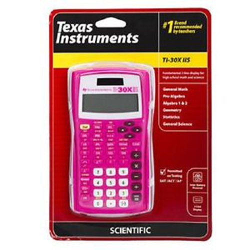 Texas Instruments TI-30X IIS 2-Line Scientific Calculator, Magenta