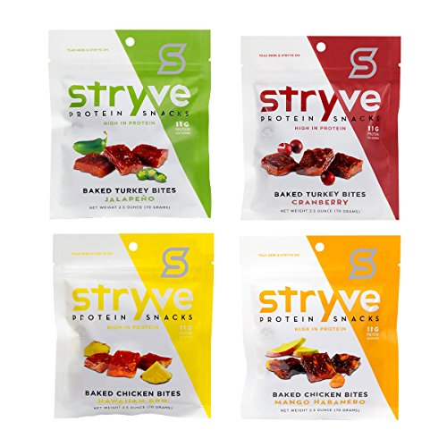 Stryve Foods Variety Pack Bites, 12.86 Ounce by Stryve Foods
