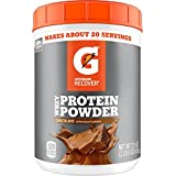 Gatorade Protein Powder, Chocolate (20 servings per canister, 20 grams of protein per serving)