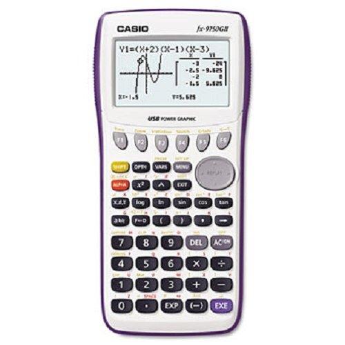 9750GII Graphing Calculator, 21-Digit LCD - CSOFX9750GIIWE