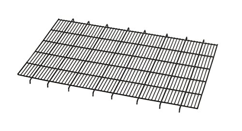 Grid Floor Metals Midwest (Floor Grid for Dog Crate | Elevated Floor Grid Fits MidWest Folding Metal Dog Crate Models 1536U, 1536DDU, 436, 436DD)