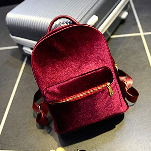 Pu Ran® - Bolso estilo cartera para mujer small, gris (gris) - YKZV162645ETAMT5434 Red