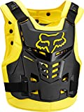 Fox Racing Proframe LC Roost Deflector-Black/Yellow-S/M