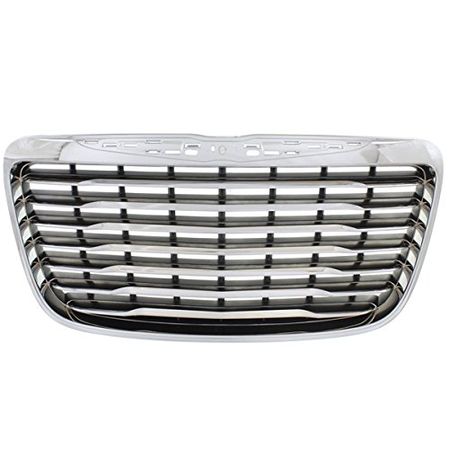 Koolzap For NEW 11-14 300 Front Grill Grille Assembly Chrome Shell Bars CH1200351 - Chrome Shell Grill