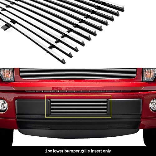 (APS F66789A Polished Aluminum Billet Grille Bolt Over for select Ford F-150 Models)