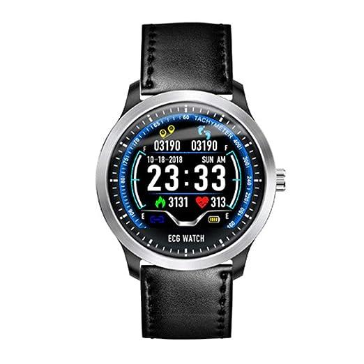 Smart Watch TB06 IP68 Reloj Inteligente A Prueba De Agua Smartwatch Hombres Reloj Inteligente Soporte Electrocardiograma Medición 3D UI Multisport Fitness ...