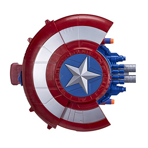 Captain+America Products : Marvel Captain America Blaster Reveal Shield