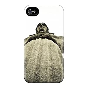 New Shockproof Protection Case Cover For Iphone 4/4s/ Cristo Rei Case Cover