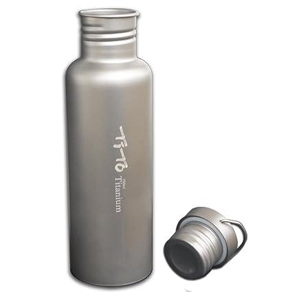 Amazon.com: Tito Titanium - Botella de agua ligera para ...