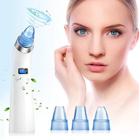 Review Blackhead Remover Vacuum, Facial Pore Cleanser for stubborn blackheads USB Rechargeable Blackhead Sucker Electric Skin Cleanser Blackhead Extractor Tool Skin Pore