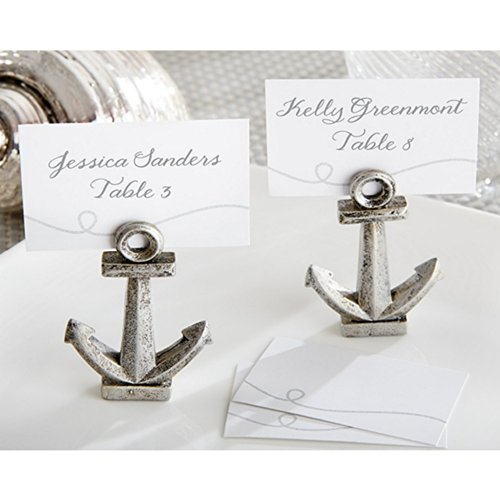 Nautical Anchor Place Card or Photo Holder (Set of 12)