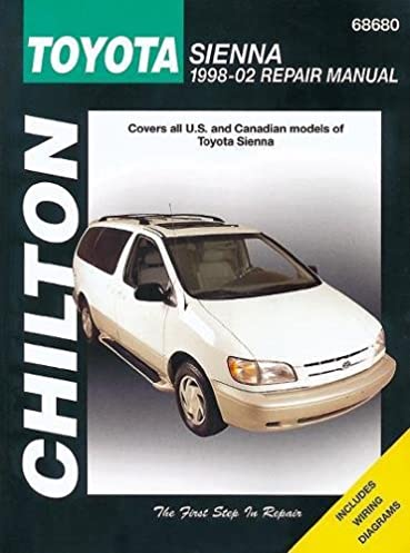 toyota sienna chilton repair manual 1998 2009 jay storer rh amazon com 2011 toyota sienna factory service manual 2011 toyota sienna repair manual