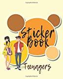 Best Teenager Books - Sticker Book Teenagers: Blank Sticker Book, 8 x Review