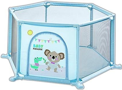 Baby Play Fence DiseñO Hexagonal Material De Tubo De PVC Tela ...