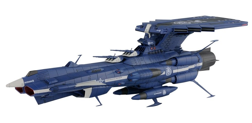 Star Blazers Yamato 2202 Apollo Norm Model Kit