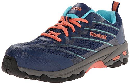 Reebok Work Women's Exline RB426 Work Shoe, Indigo Blue, 8 M US by Reebok Work