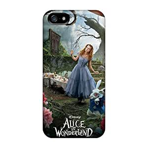 Pretty GTPSm4950JfIJu For Iphone 5/5S Phone Case Cover Alice In Wonderland Series High Quality Case