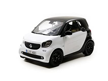 2015 Smart For Two Black and White 1/18 by Norev 183430