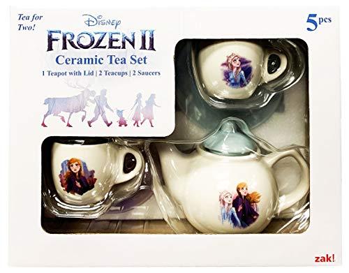 Zak Designs! Disney Frozen 2 Kids Ceramic Tea Set