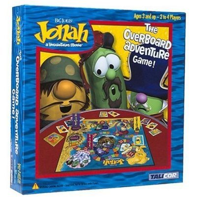 Veggie Tales-Jonah The Overboard Adventure Game ()